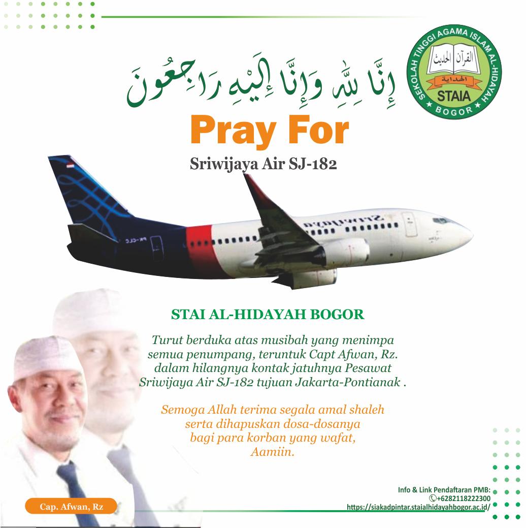 Sriwijaya Air Jatuh Sabtu 9 Januari 2021