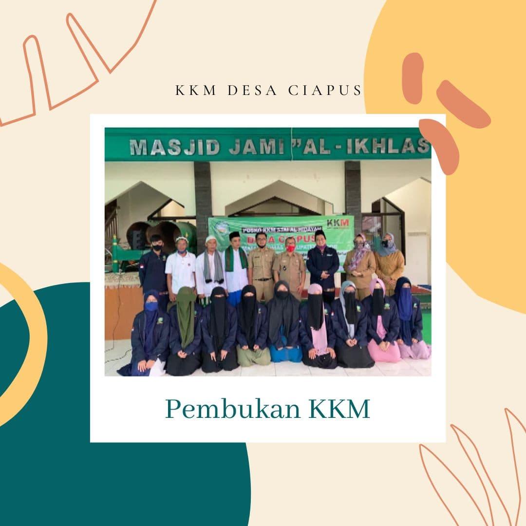 Update Kegiatan KKM Kelompok 3 STAI Al-Hidayah Bogor