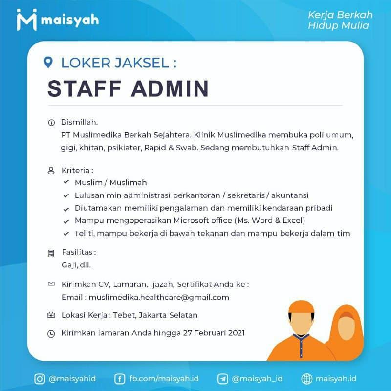 Informasi Lowongan Kerja Stai Al Hidayah Bogor
